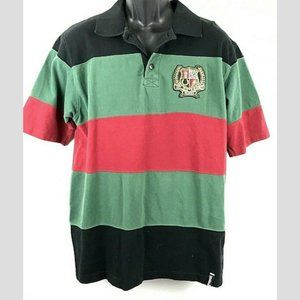 South Pole MCMXCI Polo Striped Shirt Embroidered